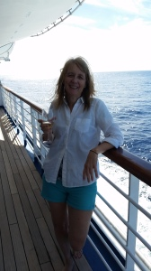 Sara on cruise