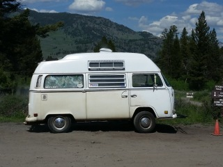Volkswagon van camper